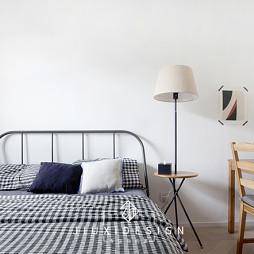 50平北欧极简——卧室图片
