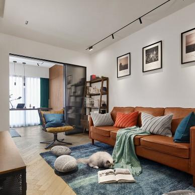 45平现代简约——客厅图片