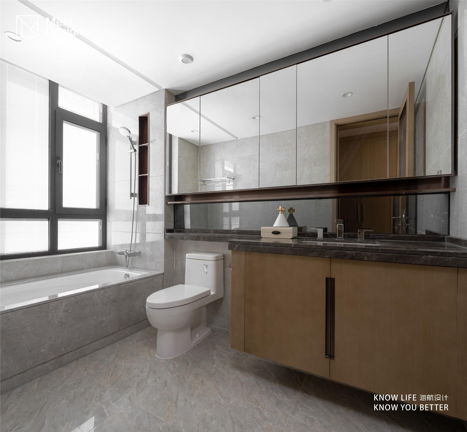 """空间布局""""零""""改动,精装房奇妙宴会开场了卫生间其他卫生间设计图片赏析"""