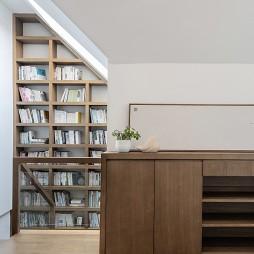 温州原木空间设计丨清韵——书房图片