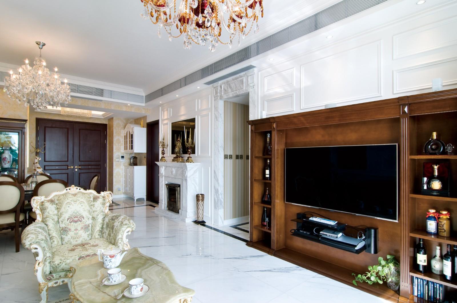 時尚大氣歐式客厅欧式豪华客厅设计图片赏析