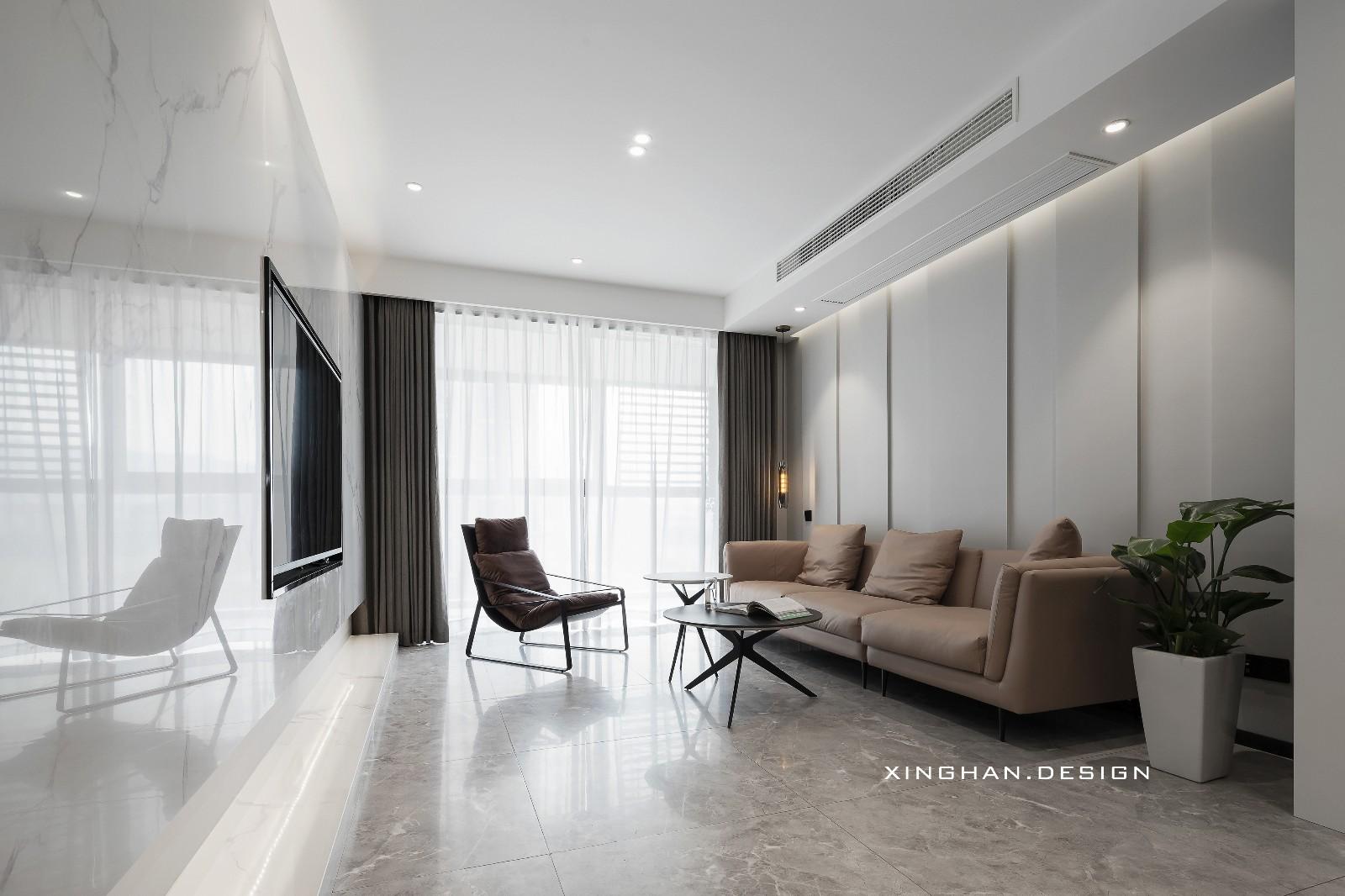 花最少的预算装修成了全小区最红的房子客厅现代简约客厅设计图片赏析