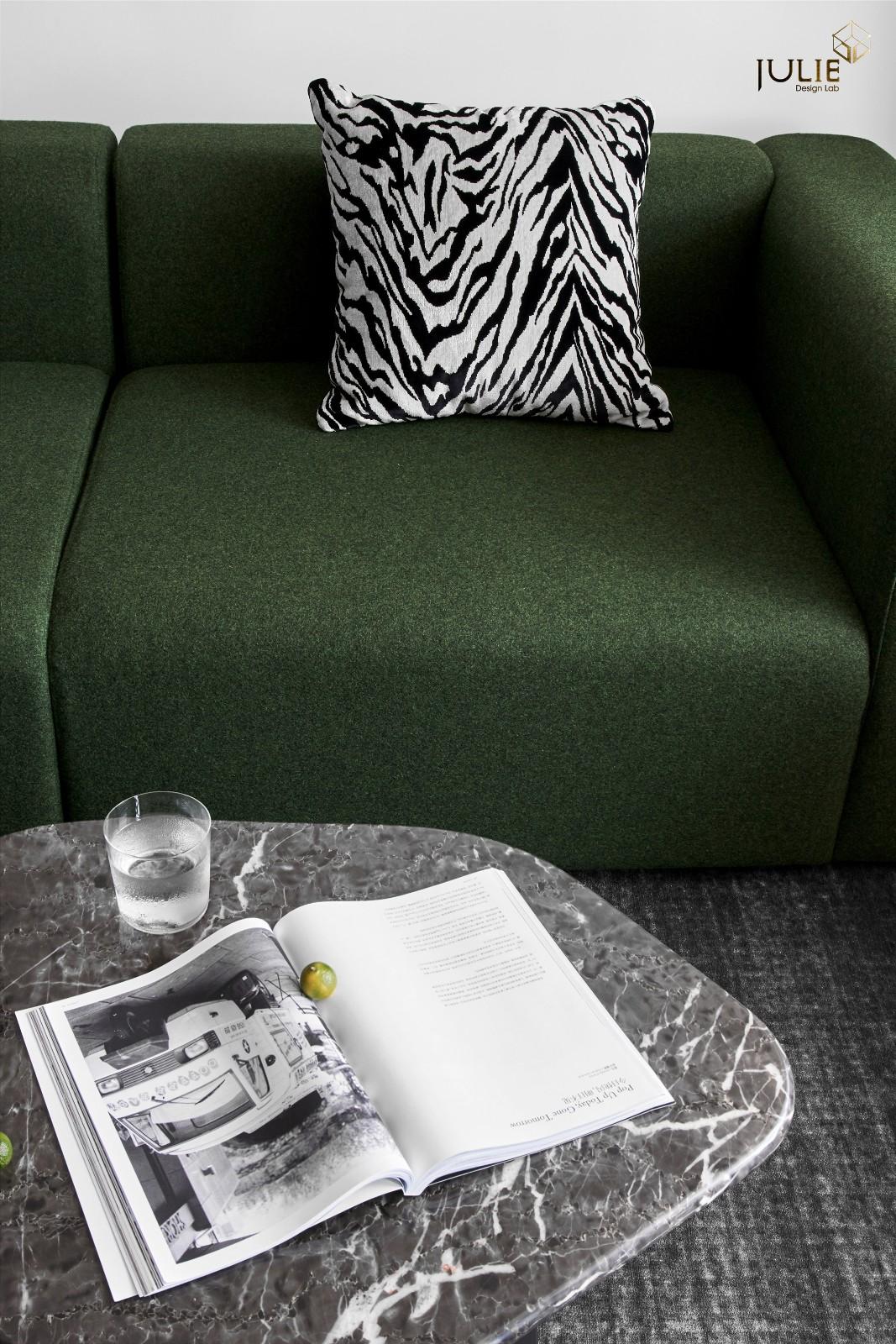 Ramble|软装总得带点绿客厅现代简约客厅设计图片赏析
