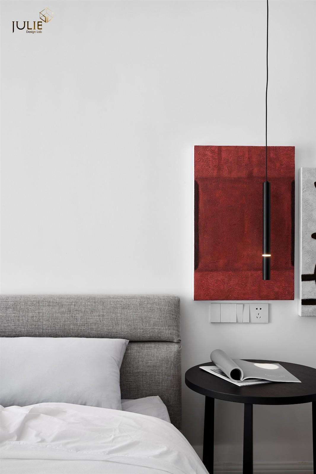 Ramble|软装总得带点绿卧室现代简约卧室设计图片赏析