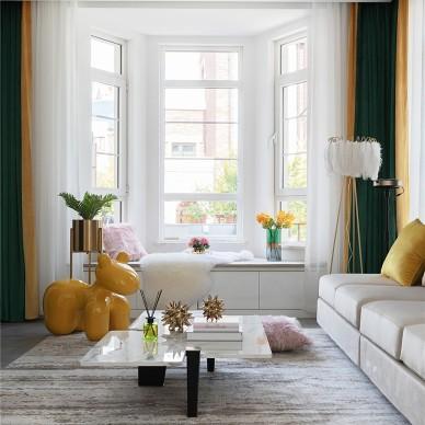 現代輕奢風格,張家口·觀瀾墅