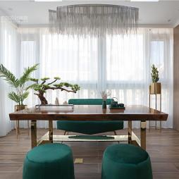 现代轻奢风格,张家口·观澜墅——书房图片