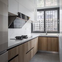 110平中式古典——厨房图片