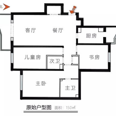 美式厚重與中式古樸混搭,呈現溫文爾雅的家_3903599