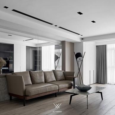 170平现代简约:客厅图片