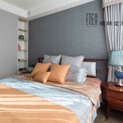 都市果岭—潮流混搭——卧室图片