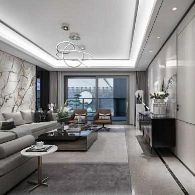 易和新作 | 嘉宏 • 江左风华样板房——客厅图片