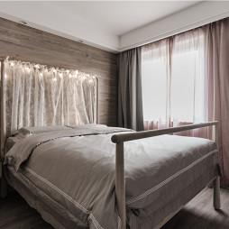 80㎡北欧极简——卧室图片