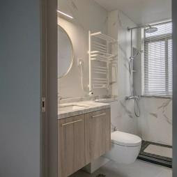 115㎡现代简约风——卫生间图片