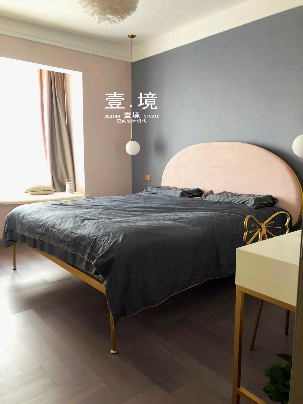 壹境【幸福礼物】卧室北欧极简卧室设计图片赏析