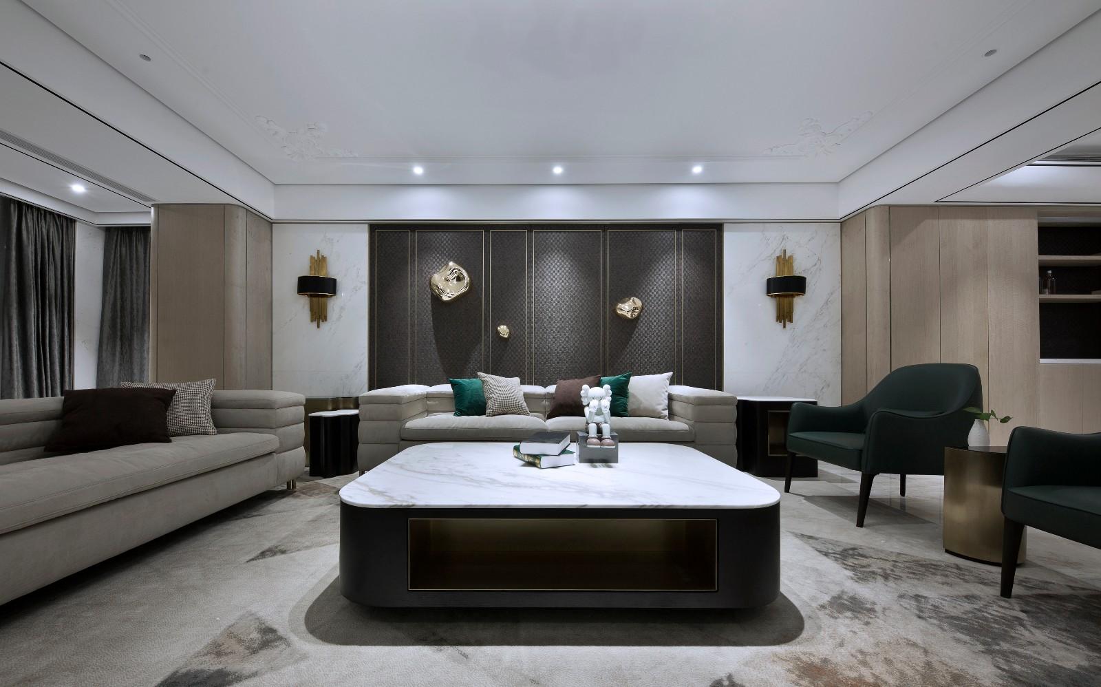 第二步:请为图片添加描述客厅潮流混搭客厅设计图片赏析