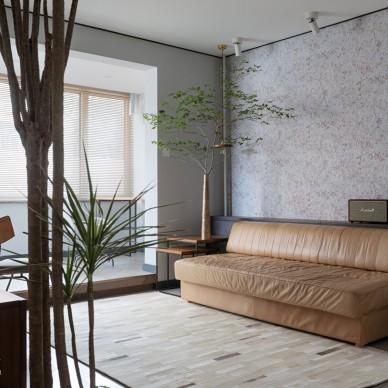 文艺boy53m²的极简情调——客厅图片