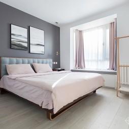清爽北欧风小户型——卧室图片