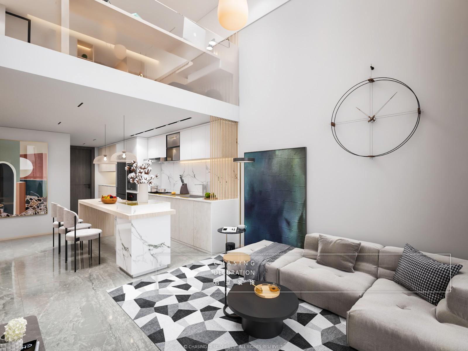 尚东数字居客厅现代简约客厅设计图片赏析