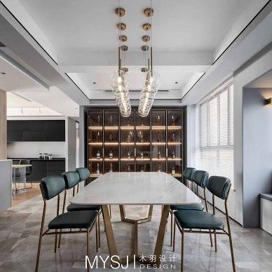 武汉木羽设计|现代雅致格调——餐厅图片