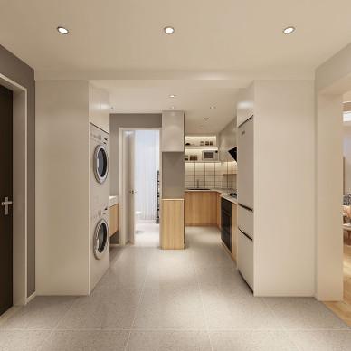 奇葩,卫生间在厨房里,厨房迂回曲折_3913294