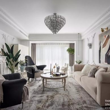 首发|塞纳河圆舞曲,演绎都市优雅主义——客厅图片