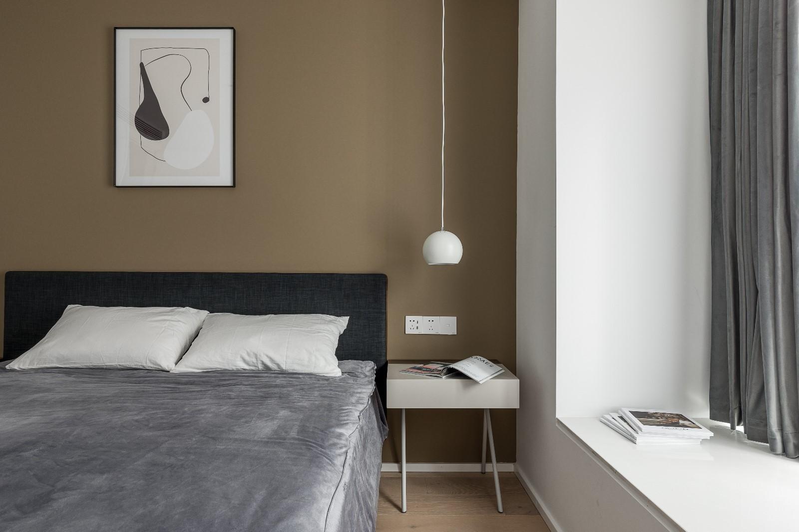 清新日光居、三口之家卧室1图北欧极简卧室设计图片赏析