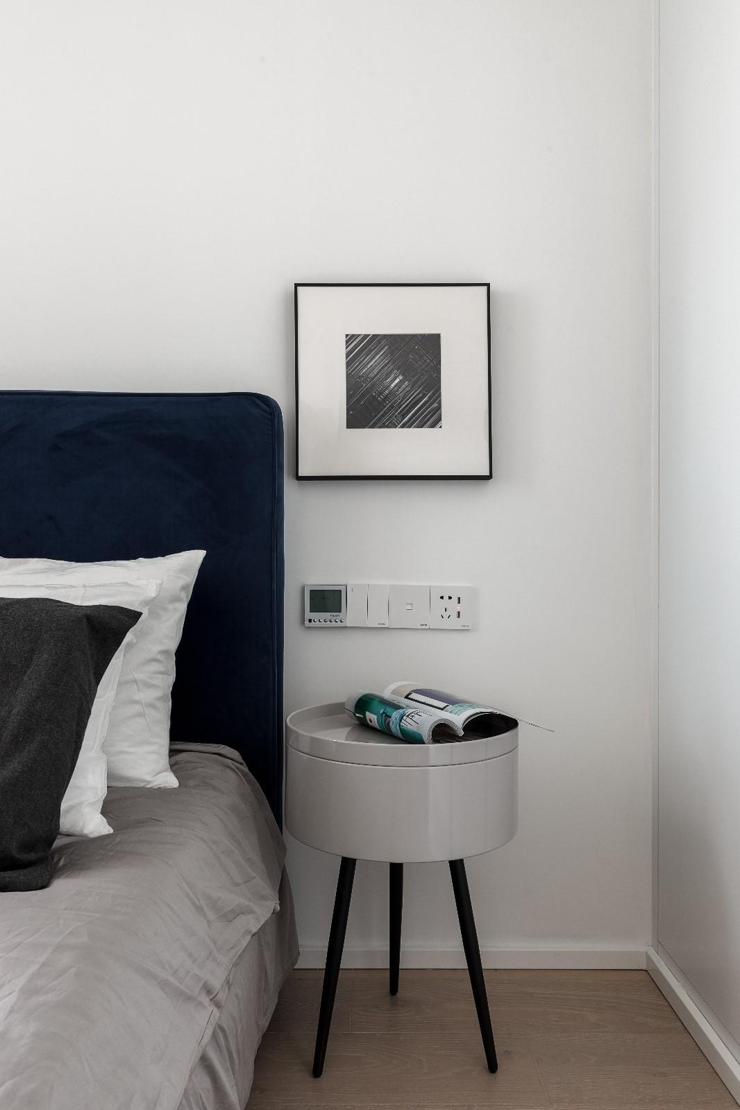 清新日光居、三口之家卧室2图北欧极简卧室设计图片赏析