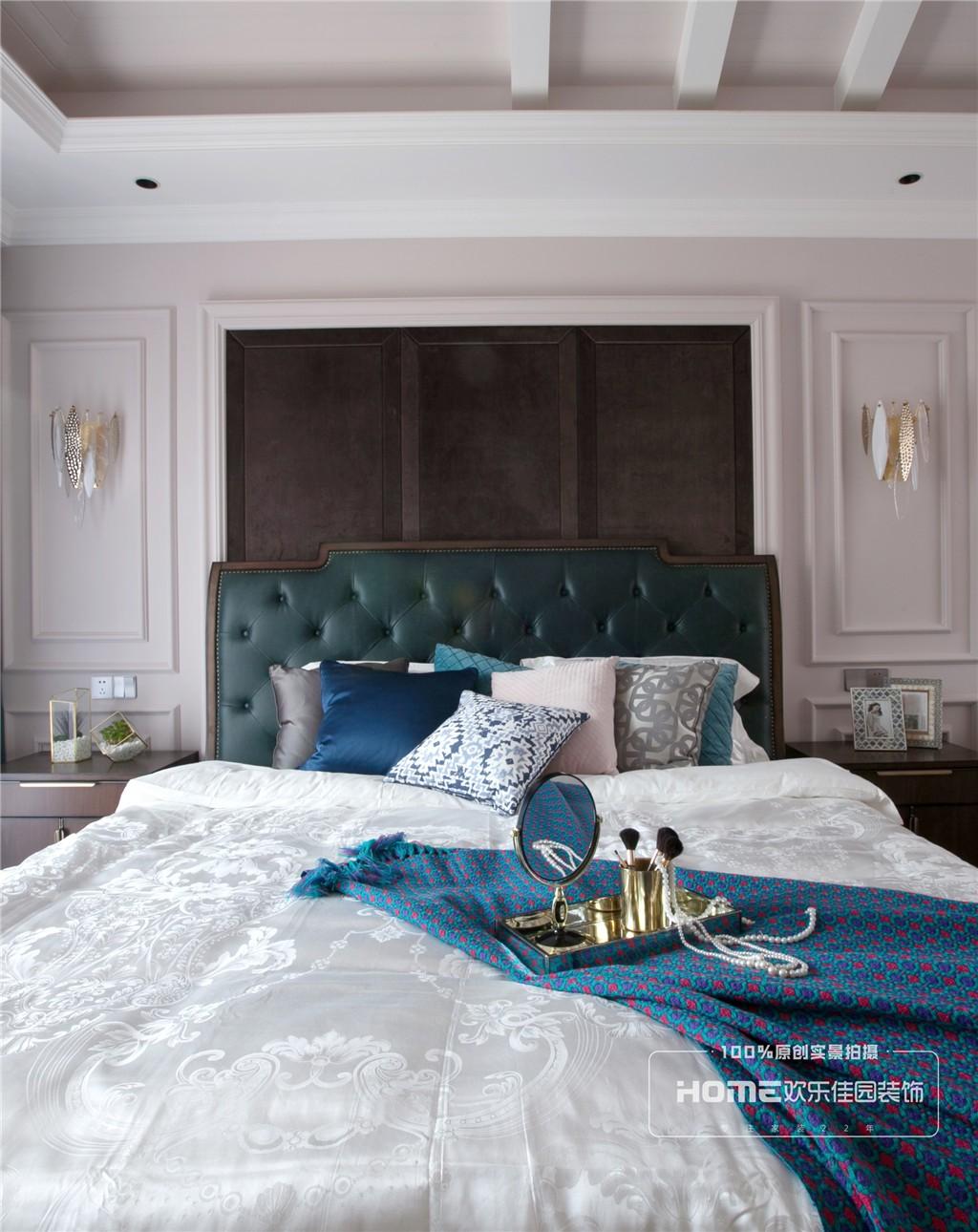 美式遇上轻奢,优雅复古与时尚并存卧室美式经典卧室设计图片赏析