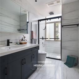 美式遇上轻奢,优雅复古与时尚并存——卫生间图片