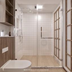 日式小LOFT——卫生间图片
