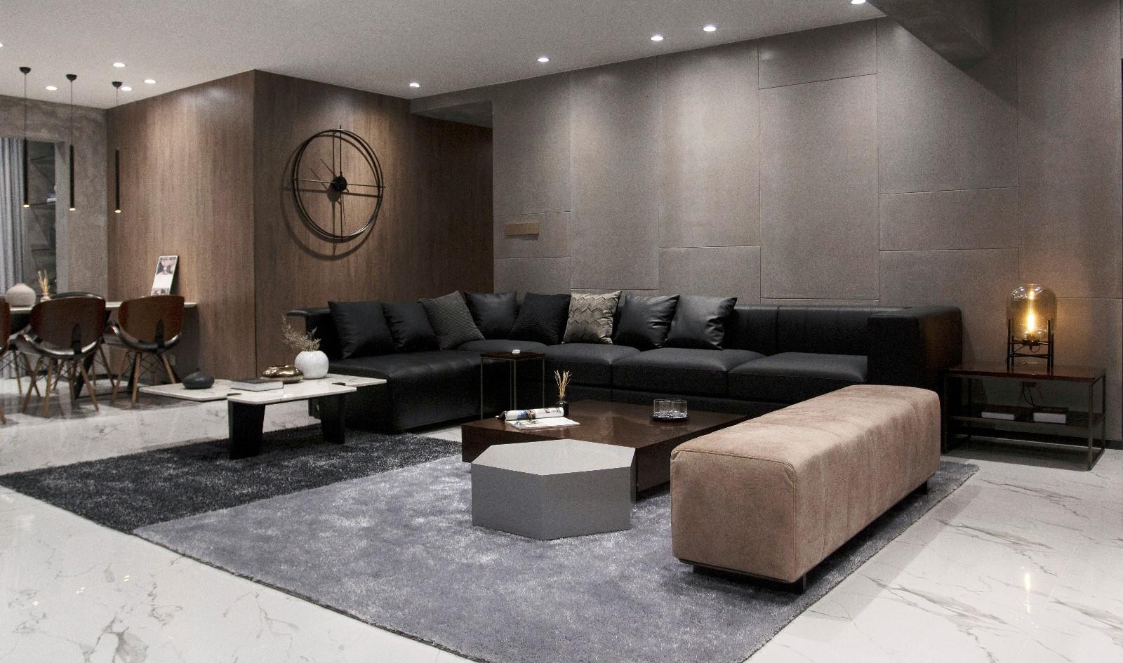 摩登·极简客厅现代简约客厅设计图片赏析