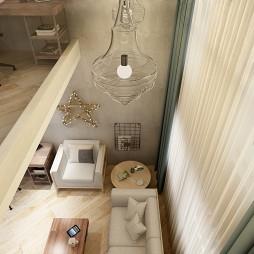 挑高公寓设计方案(工作室版)_3917110