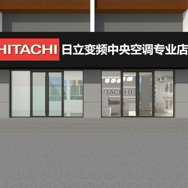 淄博展厅沿街店铺设计装修_3918628