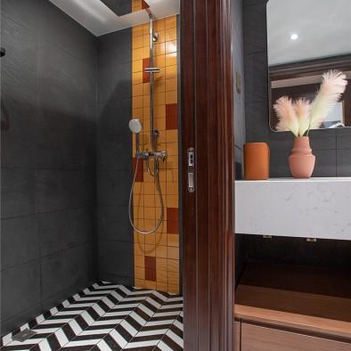 135平米简约美式风格设计,雅舍