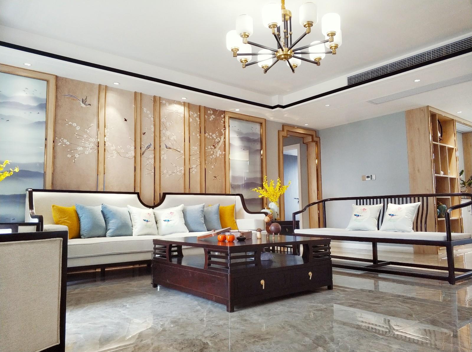 中航城客厅中式现代客厅设计图片赏析