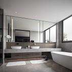 HTD新作 | 莫兰迪色演绎现代奢华空间——卫生间图片