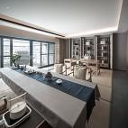 HTD新作 | 莫兰迪色演绎现代奢华空间——书房图片