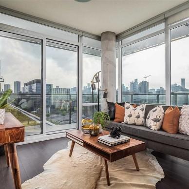 大落地窗让阳光沐浴生活——客厅图片