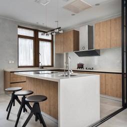 开放式设计,一家四口尽享简约大气之家——厨房图片