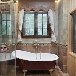 岁月筑芳华  420m²美式大宅——卫生间图片