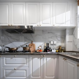 中交·中央公园简欧轻奢样板间——厨房图片