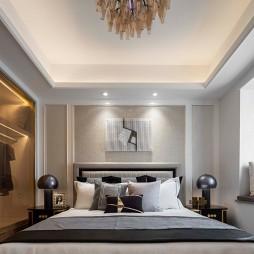 中交·中央公园简欧轻奢样板间——卧室图片