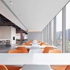 深圳湾一号T7员工食堂——座位图片