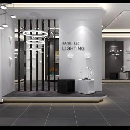 后现代灯饰照明展厅_3925942