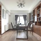 【观致国际设计】四白落地 你我闲坐——书房图片