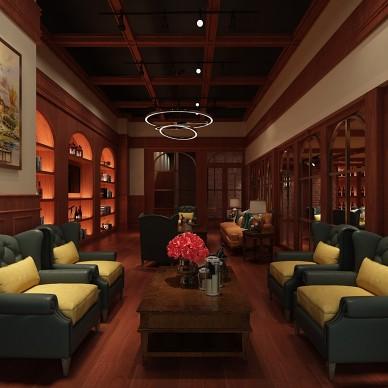 红酒先生商业空间装修项目_3927884