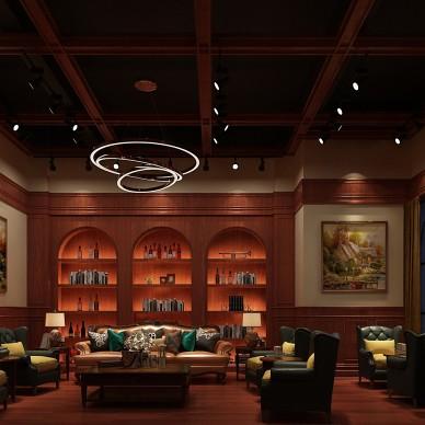 红酒先生商业空间装修项目_3927885