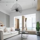 55㎡北欧风loft——客厅图片