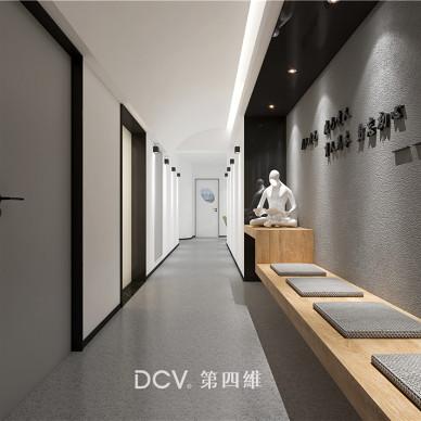 西安-星途易考j长安校区4F室内外设计_3933711