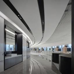 OPPO深圳湾总部员工餐厅——洗手区图片